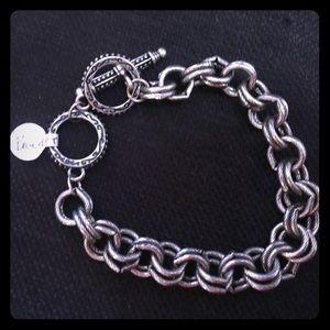 Jewelry - Silver large link chain bracelet